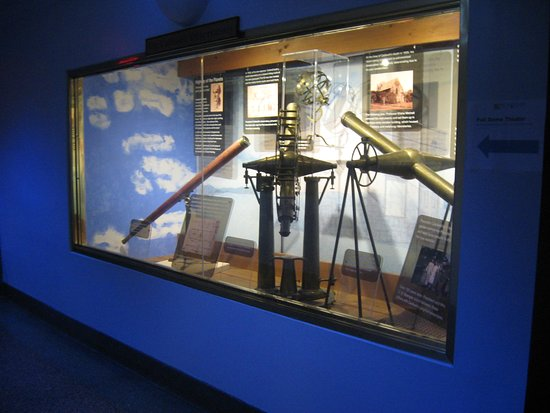 downstairs exhibit - Picture of Morehead Planetarium and
