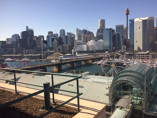 Novotel Sydney on Darling Harbour : Room views to the northern end of Darling Harbour