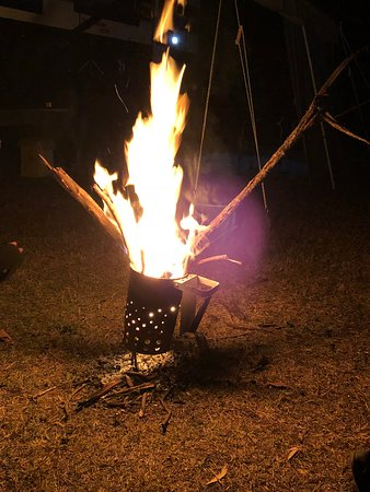 Tannum Sands, ออสเตรเลีย: Camp fires allowed