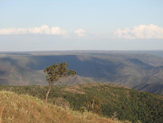 Mirante da Chapada (Centro Geodesico): Vista do mirante