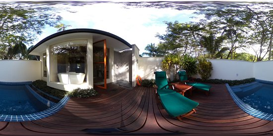 Silhouette Island, เซเชลส์: 360 photo of private pool of villa 238