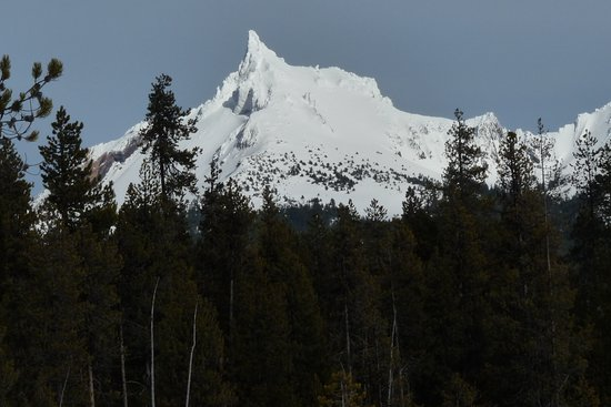 Roseburg, OR: Mt. Thielsen in the winter seen from Diamond Lake.