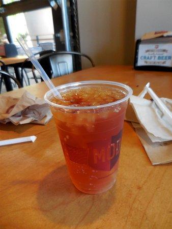 Silverdale, WA: Ice tea