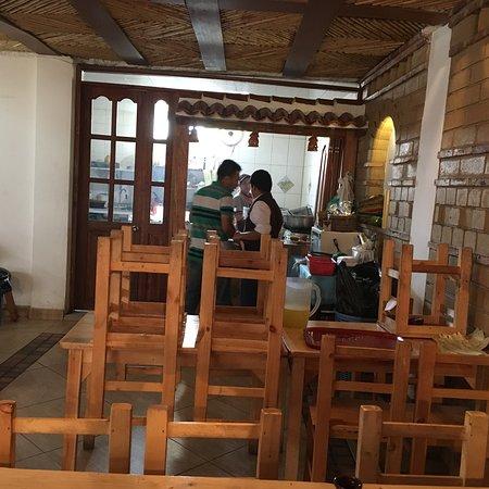 Raquira, Colombia: En una zona tan turística, está restaurante se destaca por su calidad y atención, buenas porcion