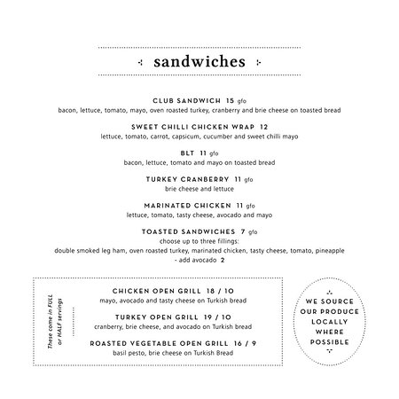 Goodlife Cafe: Sandwiches