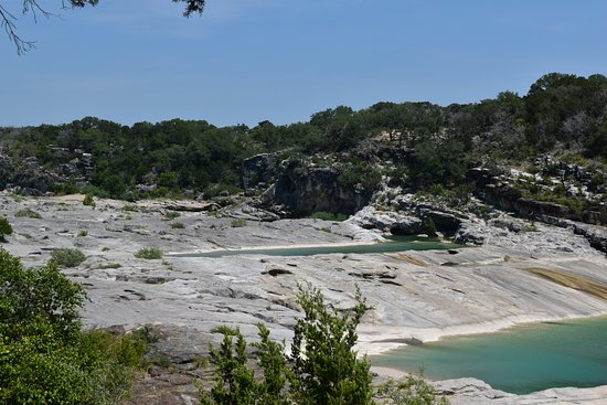 Pedernales Falls State Park: View from the viewing platform