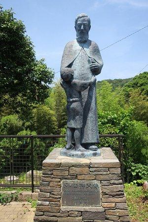 Father De Rotz Statue