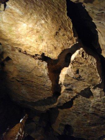 Litovel, Tschechien: Zřícený strop jeskyně