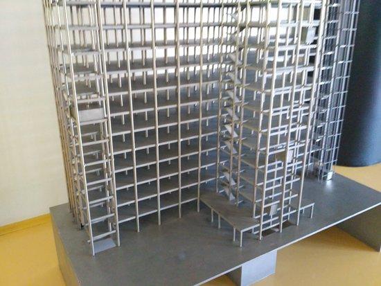 Bata's Skyscraper: model budovy