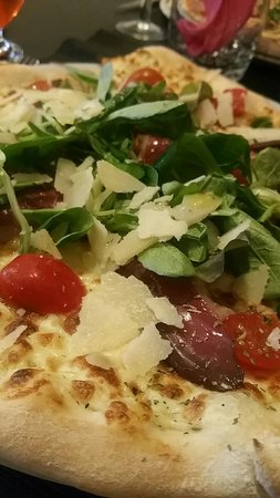 Pizza au magrets de canard