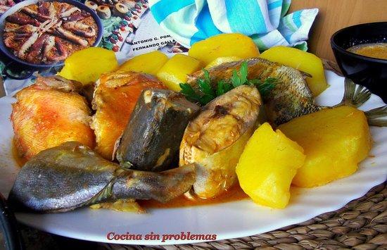 Restaurante TAPERIA La Maja: CALDERO DE PESCADO DE ROCA