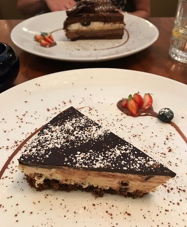 VeroGusto: Chocolate Cheesecake