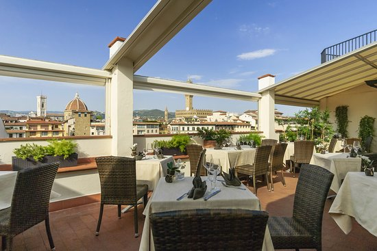 Panoramic Terrace with view on Florence