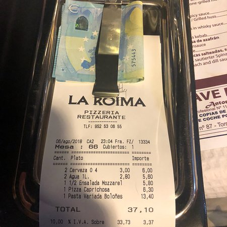 La Roima Pizzeria: photo2.jpg