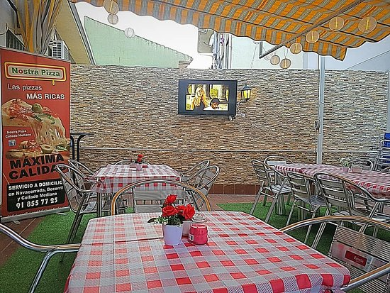 Collado Mediano, Espagne: Nuestra terraza