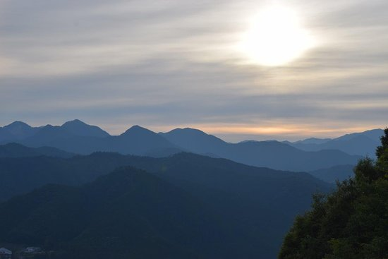 Pension Ashitanomori: The Kii Mountains are often said to be the spiritual heart of Japan