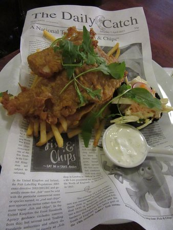 Nelly Kellys: Fish&chips