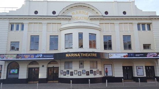 The Marina Theatre. Lowestoft, Suffolk NR32 1HH.