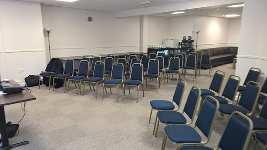 The Marina Theatre : We can cater for Conferences on our First Floor.