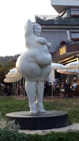 Bodman-Ludwigshafen, Jerman: Sculpture Peter Lenk