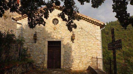 Chateau d'aulan: la Chapelle