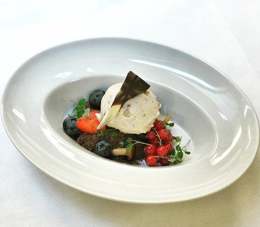 Olivetto: мороженое с лисичками
