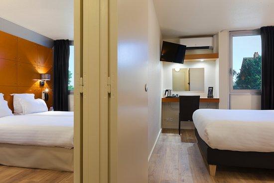 Comfort Hotel Lille L'Union : Chambre familiale pour 4 personnes