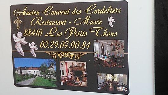 Les Thons, Frankreich: Pour les visiteurs également