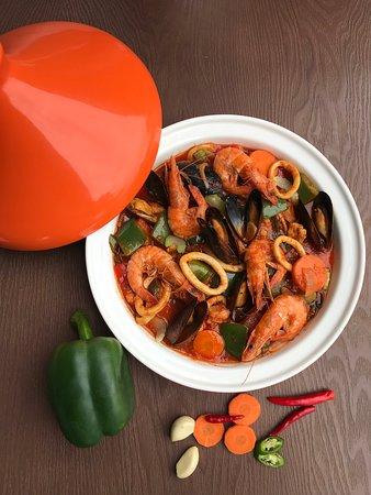 Kasbah Kuala Lunmpur: Tajine Seafood