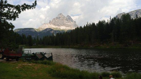 Auronzo di Cadore, Ιταλία: panoramica con le tre cime di Lavaredo