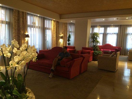 Hotel Principe: Recepção Hotel Príncipe Venezia, Italia