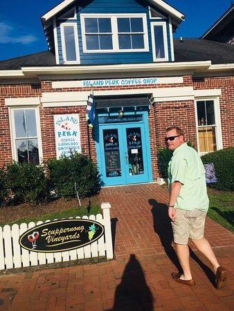Island Perk Coffee Shop