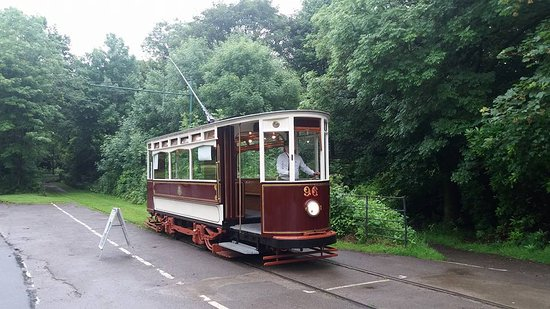 Heaton Park Tramway: 1901 Built Hull Corporation Tramways 96