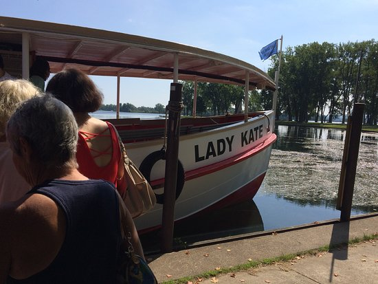 Presque Isle Boat Tours: As we boarded...