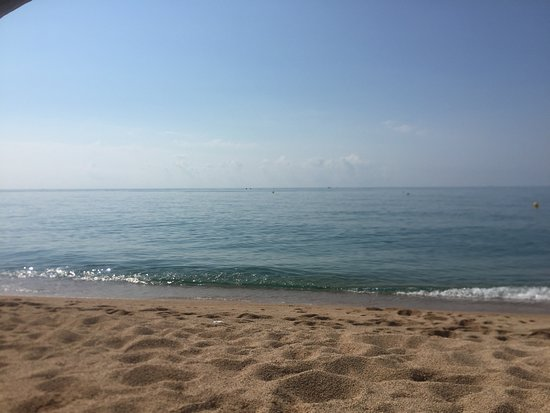 Canet de Mar, Spain: vista mare