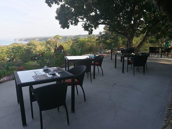 Sumba Nautil Resort: pranzi e cene con vista, temperatura perfetta