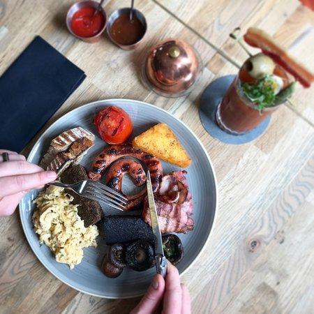 Chop House Market Street : Weekend breakfast