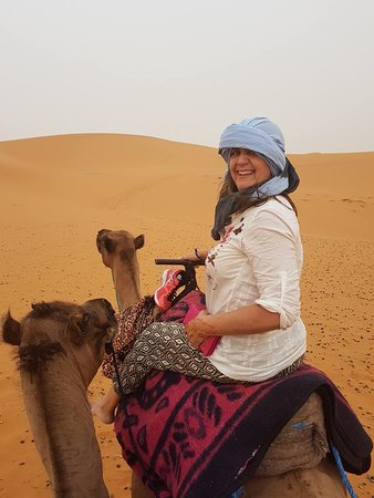 Morocco Joy Travel: Camel riding on the Sahara