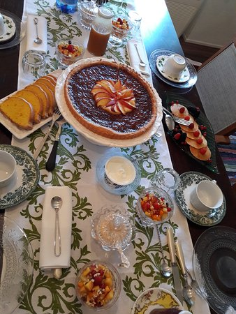Gambettola, Italie : Breakfast feast