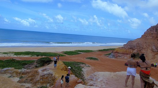 Gunga Beach: Alto da montanha.