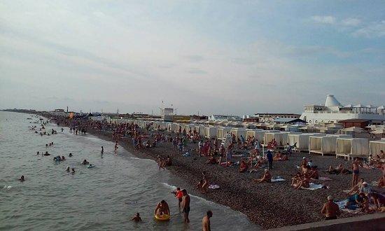 п.Новофёдоровка: пляж Ново-Федоровка