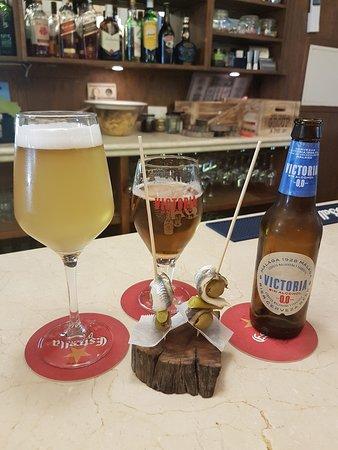 Algarinejo, Spain: Un aperitivo mientras esperamos nuestro menú degustación