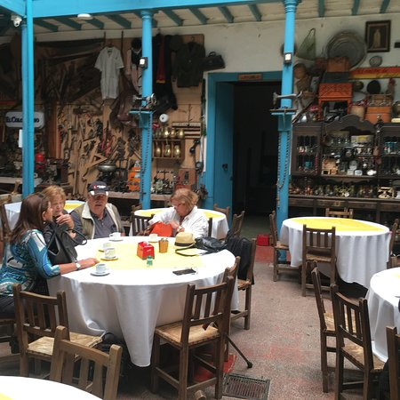 Sonson, Colombia: Restaurante Del Hostal El Tesoro