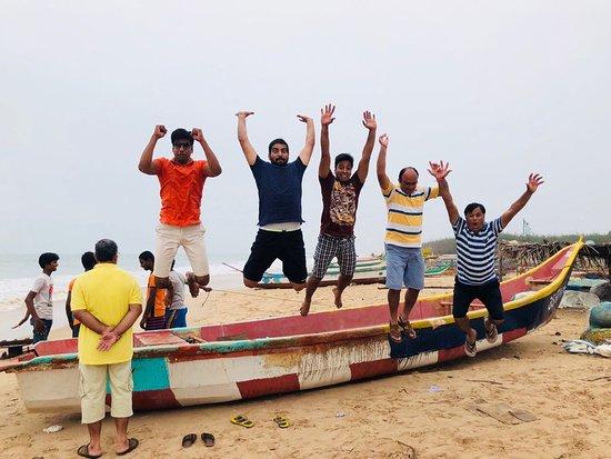 Chirala, India: Ramapuram beach.