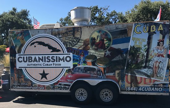 Orcutt, CA: Food Truck Parked in Tin City