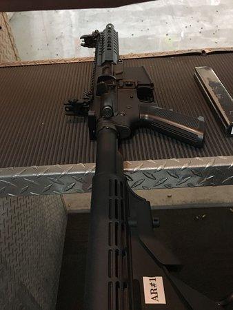 Oak Ridge Gun Range: AR15