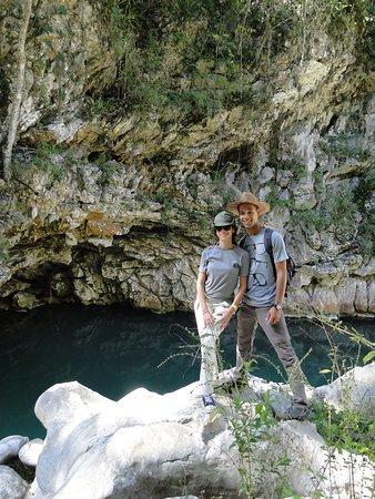 Granma Province, Cuba: Poza natural en Charco Prieto Guisa Granma.