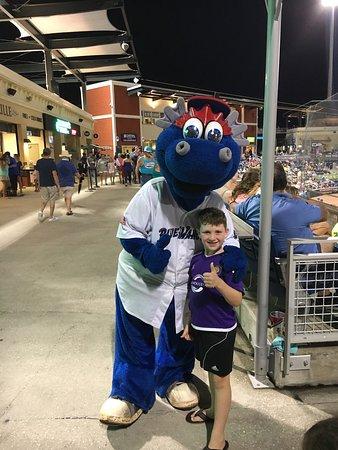 Blue Wahoos Ballpark: #1 Wahoo Fan!