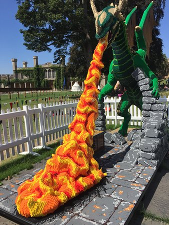 Mythrog The Dragon Made From 430000 Bricks Picture Of Lincoln