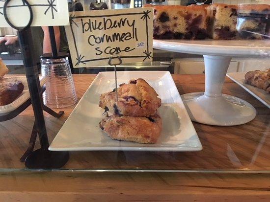 Chatham, NY: Blueberry Cornmeal Scone